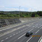 تثبیت ترانشه ها توسط میخ کوبی (نیلینگ) جهت احداث راه آهن و بزرگراه ها