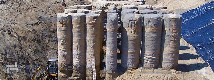 قطر ستون های ساخته شده به روش اجرای جت گروتینگ (تزریق پرفشار)