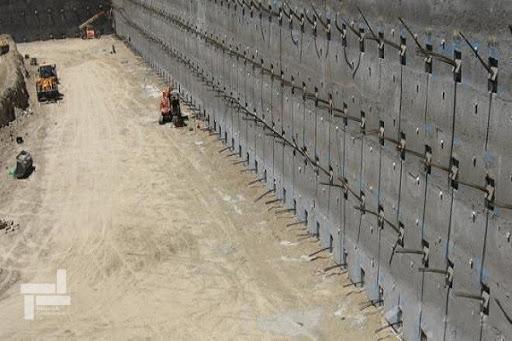 آنالیز حساسیت دیوار برلنی و تعیین پارامترهای مختلف تاثیر گذار بر رفتار دیوار