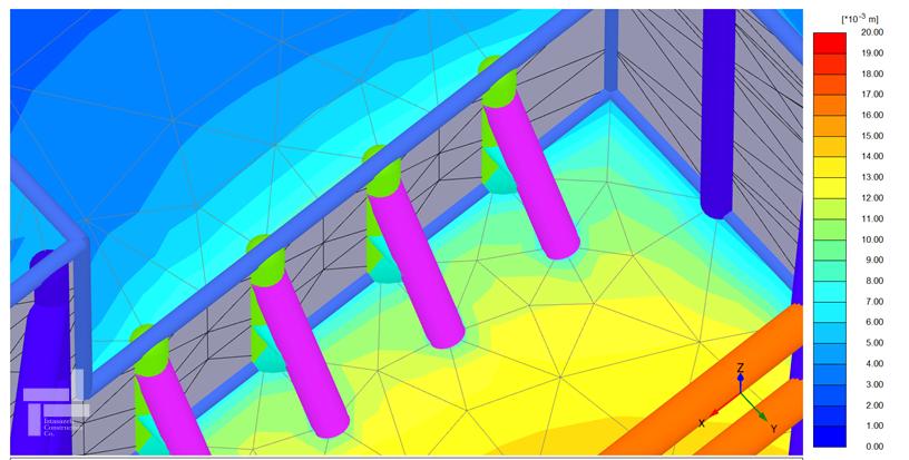 طراحی سازه نگهبان خرپایی با استفاده از نرم افزار Plaxis 3D