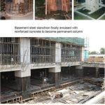 مرحله 6.تکمیل لایه دوم ستون ها و دیوارهای باربر