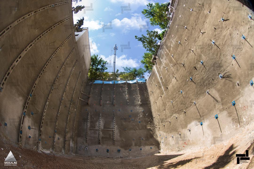 نیلینگ یا میخ کوبی دیواره چیست؟ (Soil Nailing)