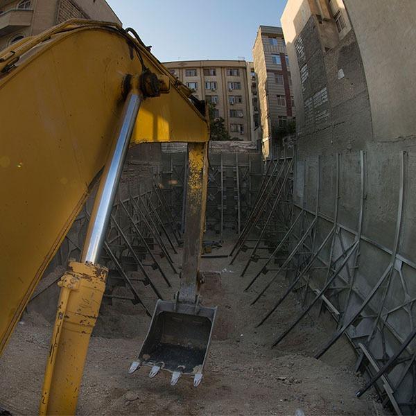 پروژه سعادت آباد- ایستا سازه
