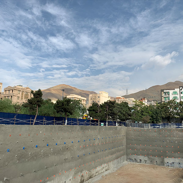 پروژه سعادت آباد-ساید پارک- شرکت ایستا سازه