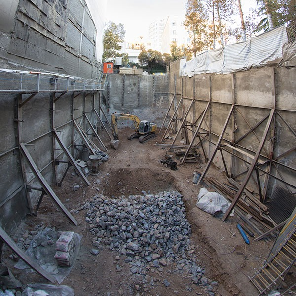 پروژه نیاوران- ایستا سازه