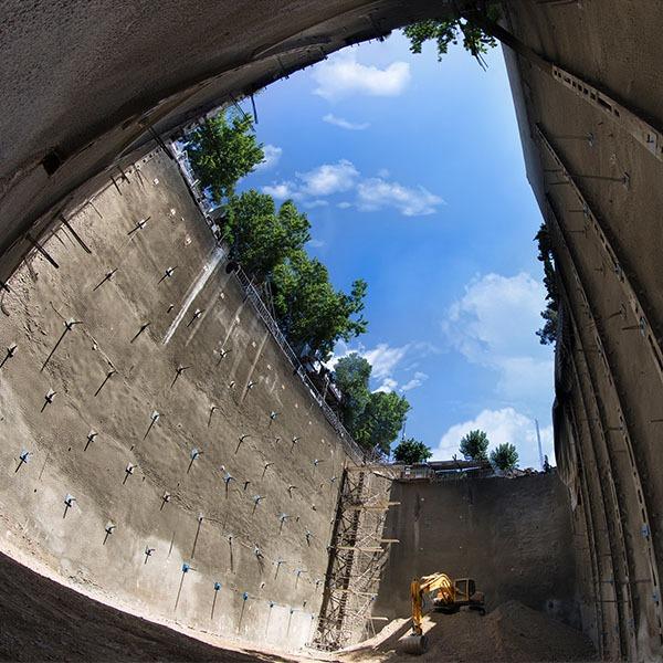 پروژه یوسف آباد- ایستا سازه