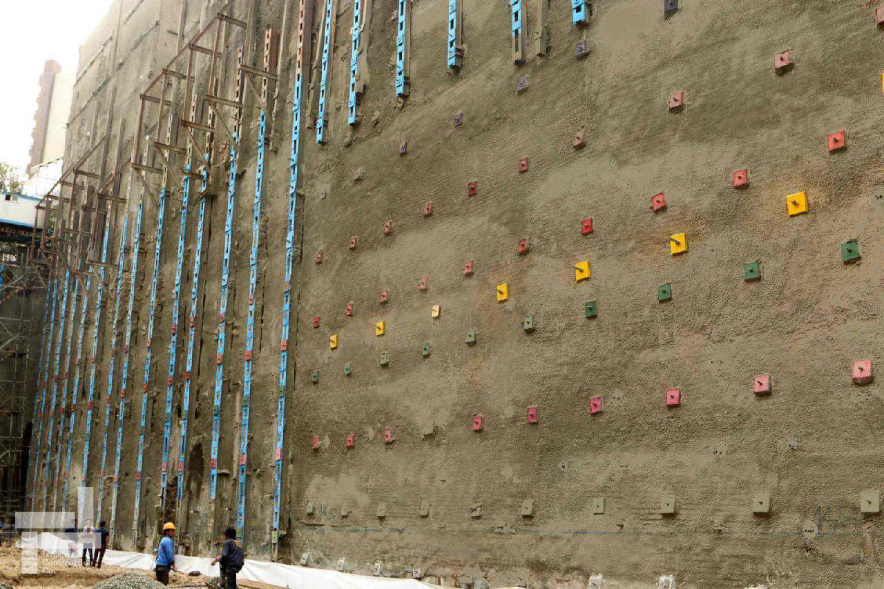 گودبرداری حین اجرا و دوره بهره برداری در روشهای میخ کوبی خاک، مهارگذاری و دیوار برلنی