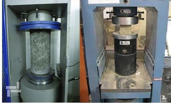 تجهیزات آزمایش مقاومت فشاری بتن (Compressive strength of concrete) (نمونه استوانه ای و مکعبی)