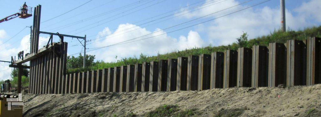 استفاده از سپرهای فولادی Z شکل جهت پایدارسازی دیواره
