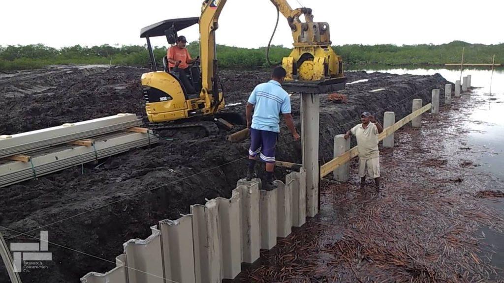 sheet-piling-contractors.سپرکوبی