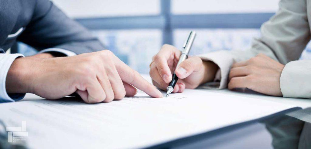 شروط ضمن عقد قرارداد - قرارداد مشارکت در ساخت - شرکت ایستاسازه