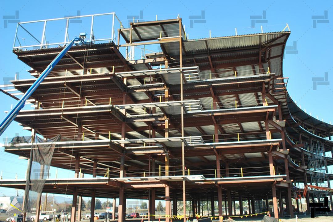 انواع سیستم سازه ای - سازه ساختمان - شرکت ایستا سازه