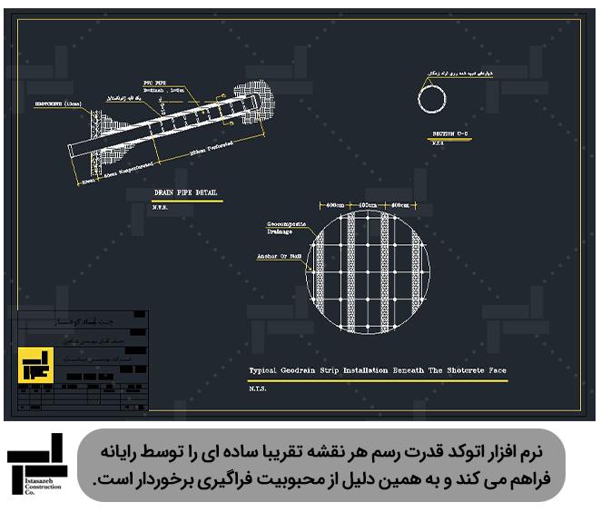 خلاقیت و ابتکار در طراحی و رسم نقشه های مختلف - شرکت ایستا سازه