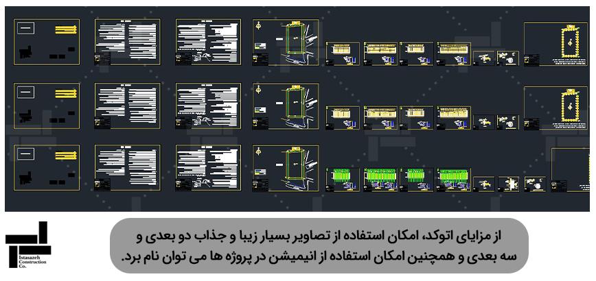 نمای کلی مزایای Autodesk اتوکد