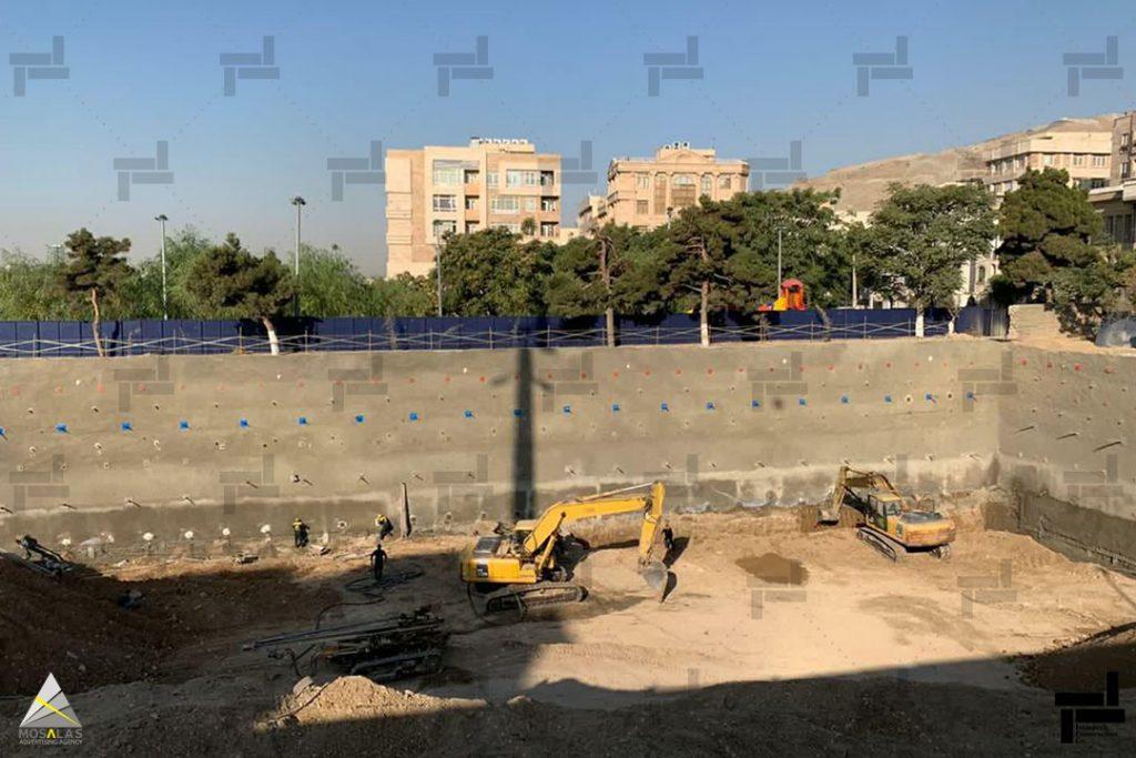 خاکبرداری ساختمان