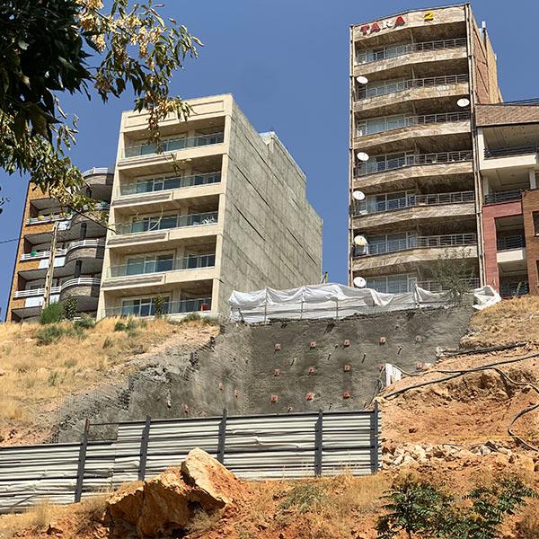 پروژه مهاباد - شرکت ایستا سازه