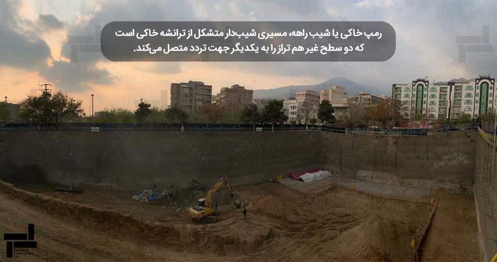 گودبرداری (Excavation) - پایدارسازی گودهای عمیق – شرکت ایستاسازه