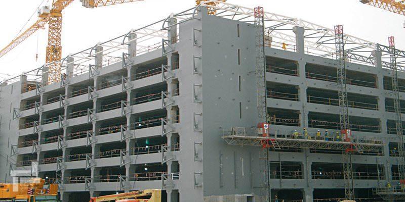 سازه بتنی - سازه فلزی و سازه بتنی - سازه ساختمان - شرکت ایستا سازه
