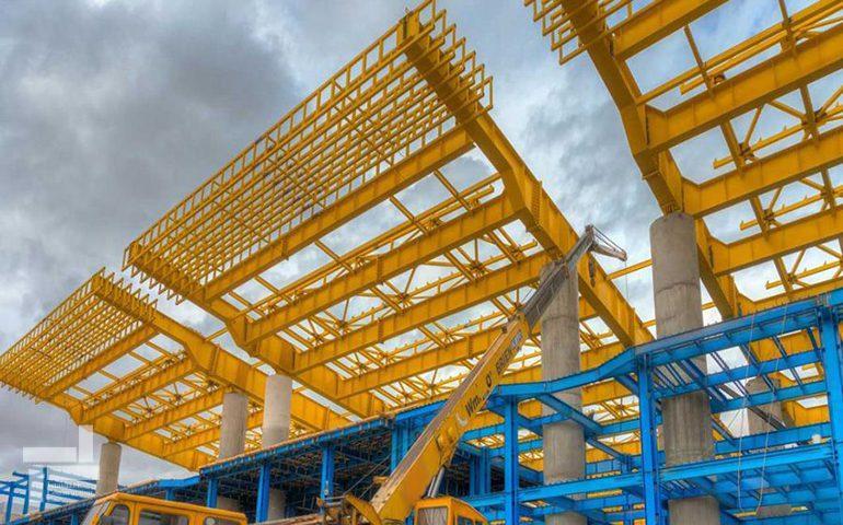 سازه فلزی - سازه فلزی و سازه بتنی - سازه ساختمان - شرکت ایستا سازه