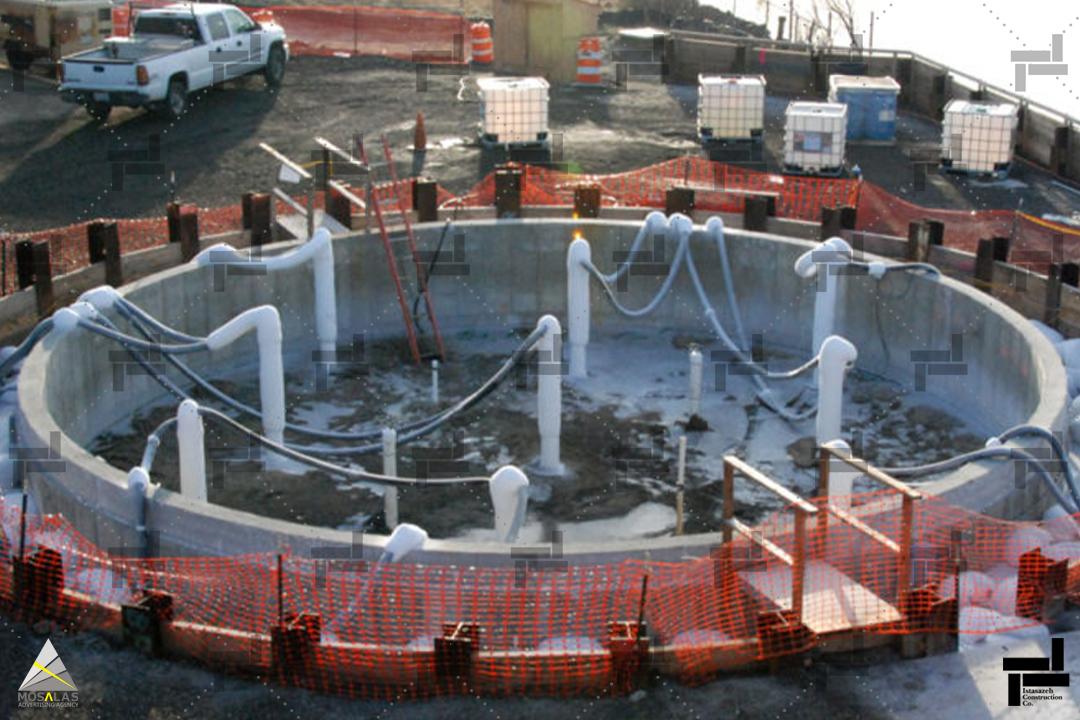 روش انجماد خاک چیست؟(Ground Freezing) - شرکت عمرانی مهندسی ایستاسازه