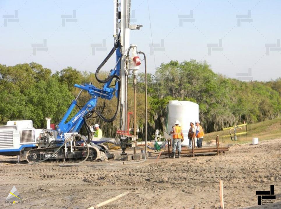 بهسازی خاک به روش تزریق و انواع روش های تزریق در خاک