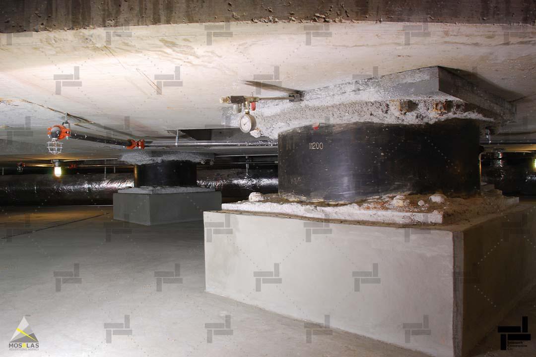 جداگرهای لرزه ای(Seismic Base Isolation) - شرکت عمرانی مهندسی ایستا سازه