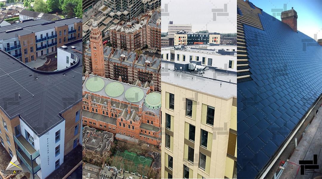انواع سیستم سقف ساختمان - شرکت عمرانی مهندسی ایستا سازه