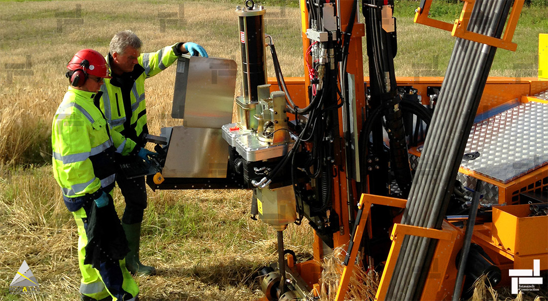 تجهیزات حفاری جهت مطالعات خاک و ژئوتکنیک