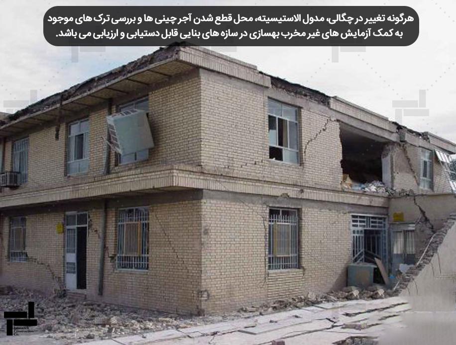 شکست دیوار آجری تحت اثر زلزله - ایستاسازه