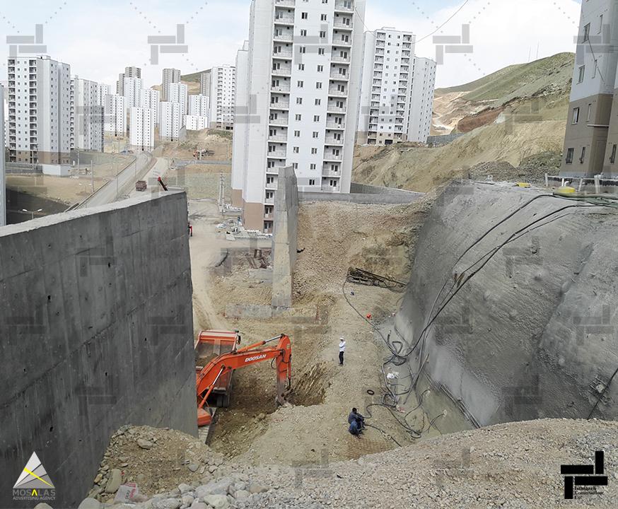 فشار جانبی خاک - شرکت عمرانی مهندسی ایستاسازه