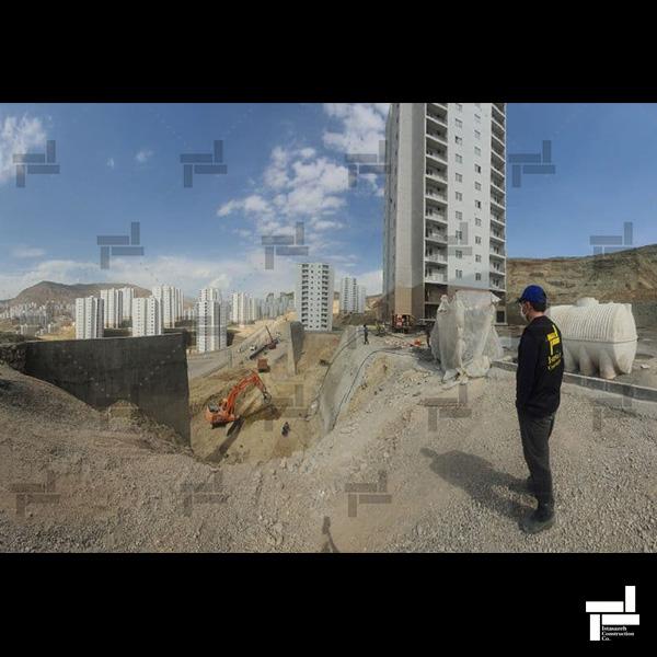 پروژه پایدارسازی با طرح دائم ترانشه فاز 11 پردیس