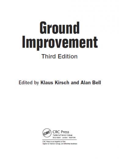 Ground Improvement Third Edition - Istasazeh Co