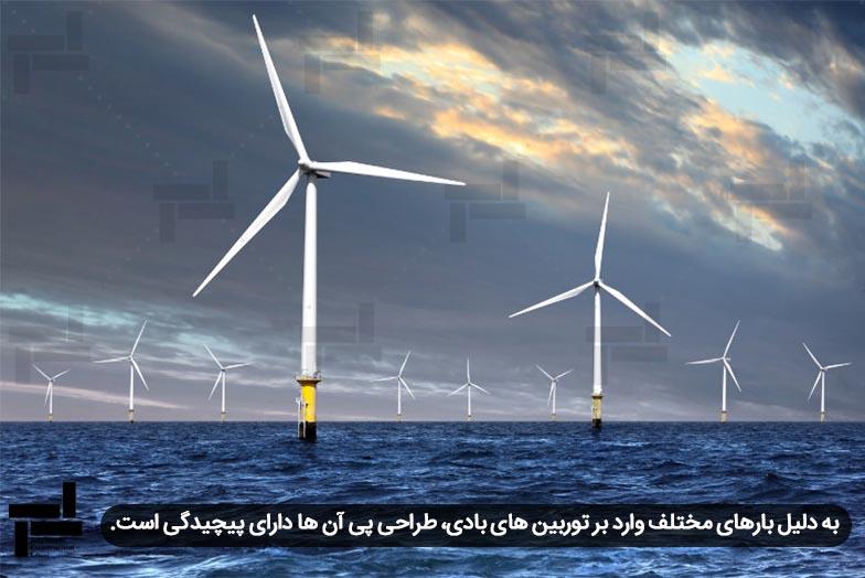 تامین برق با استفاده از مزارع توربین های بادی در دریا - شرکت عمرانی مهندسی ایستا سازه