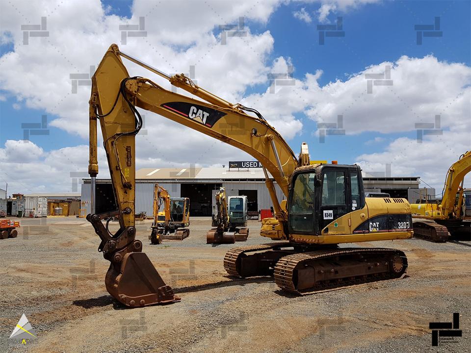 تجهیزات خاکبرداری - بیل مکانیکی - ایستا سازه
