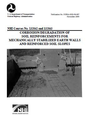 خوردگی مسلح کننده های فلزی (CORROSION/DEGRADATION OF SOIL REINFORCEMENTS)
