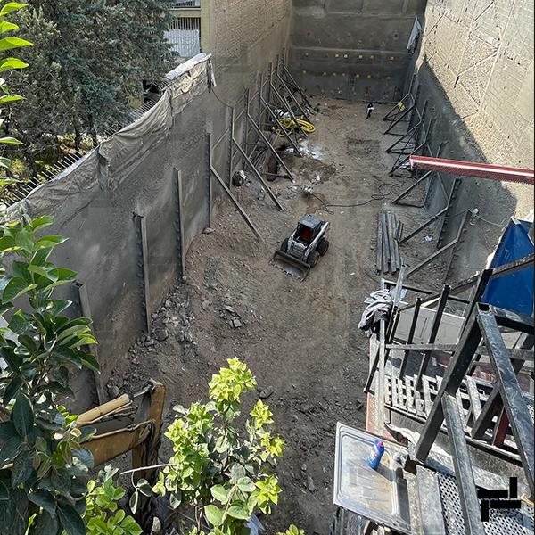 پروژه ظفر - دلیری - شرکت عمرانی ایستا سازه