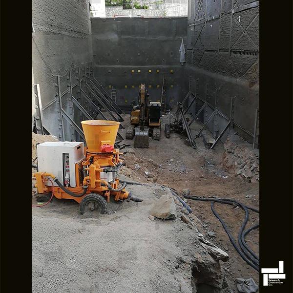 پروژه مسکونی ظفر - دلیری - شرکت عمرانی مهندسی ایستاسازه
