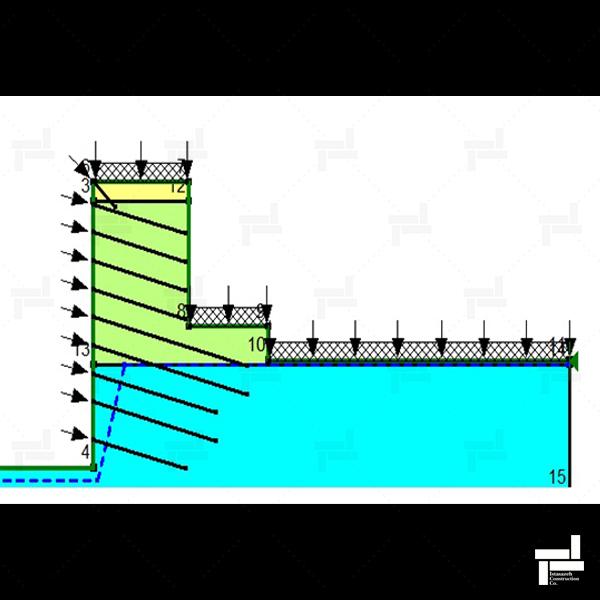 پروژه پل رومی - دولو - شرکت مهندسی ایستا سازه